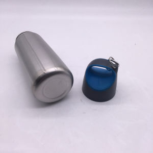 500ml Single Wall Stainless Steel Flask, Sports Bottle with Finger Ring (SH-ST19) pictures & photos