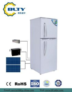 2017 Solar Refrigerator of Double Door with Ce&RoHS pictures & photos