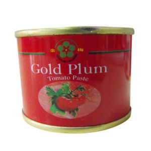 Gold Plum Canned Tomato Paste