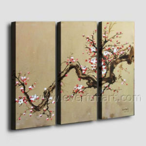 Modern Handmade Framed Flower Oil Painting on Canvas (FL3-140) pictures & photos