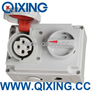 Socket with Switches and Mechanical Interlock (QX7279) pictures & photos