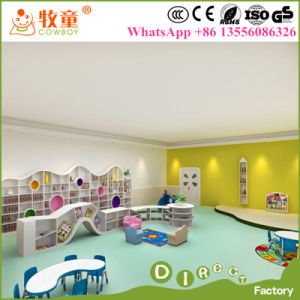 Luxury International Preschool Kindergarten Reading Room Library Furniture Sets pictures & photos