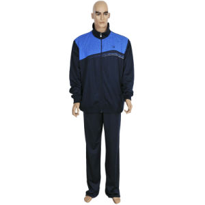 Hot Sell Men′s Polyester School Uniform Sport Tracksuit pictures & photos