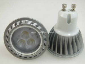 3030LED 3PCS 3W GU10 AC85-265V LED Spotlight pictures & photos