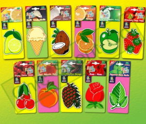 Paper Air Freshener (Assorted Fresh Fruits)