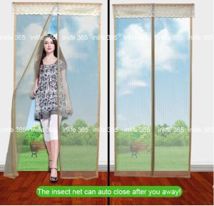 Magnetic Door Mosquito Net/Ready Made Curtain/Insect Screen