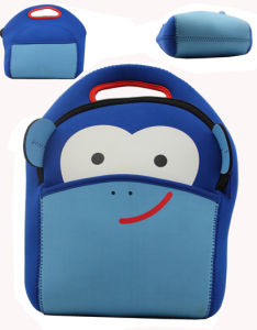 3mm Neoprene Cute Backpack Lunch Bag with a Monkey pictures & photos