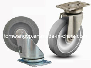 """4"""" TPR Swivel Caster for Mover Dolly pictures & photos"""