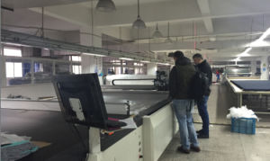 Tmcc-2225 Full Automated CNC Garment Textile Fabric Cutting Machine pictures & photos