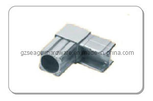 18*25 Chrome Square Connector