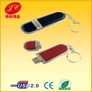 USB Memory Stick, Custom Gift USB Flash Drive, Leather Flash Drive (JC05-015)
