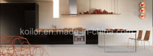 Lacquer Kitchen Cabinets (Black Rose)