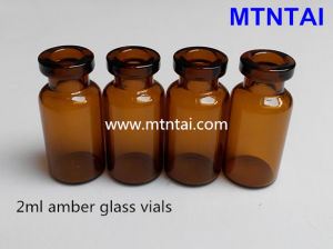 2ml Amber Color Essence Liquid Bottles pictures & photos