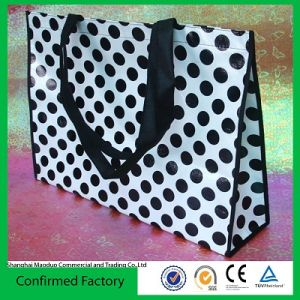 Laminated Recycled Tote Bag (MD-AD-1039)