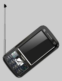 Triple SIM Card TV Phone (2GSM+1CDMA)