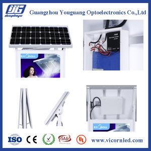 Hotsale: Sol-60 Double Side Solar Power LED Light Box pictures & photos