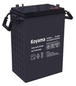 High Quality Deep Cycle Battery Gel Battery Storage Solar Battery 380ah 6V pictures & photos