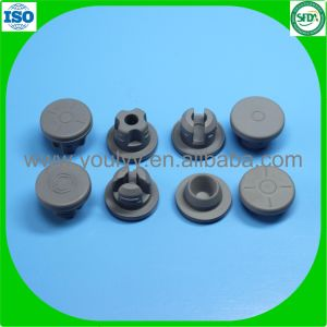 ISO and USP Standard Bromo Butyl Rubber Stopper pictures & photos
