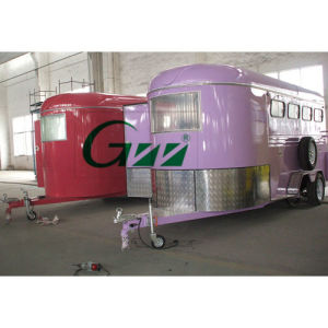 4 Horse Trailer 4horse Float Slant Load China Imported pictures & photos