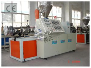 Conical Twin Screw Plastic Extruder (SJSZ series Double screw) pictures & photos