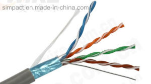 Wholsale 23AWG 4 Pairs Data Communication Cable FTP Cat5e Cable Price pictures & photos