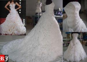 Fancy Korean Style Wedding Dress (WD1041)