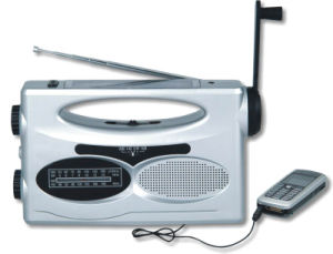 Solar Dynamo Radio with Flashlight (GH-883A) pictures & photos