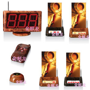 Wireless Restaurant Table Call System with Service, Water,Order Bill Fuction Key