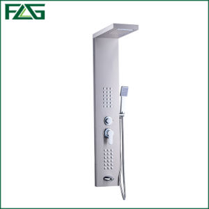 Flg  Mirror Matt Brushed Nickle Bathroom Waterfall Shower Panel pictures & photos