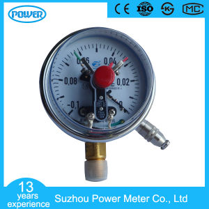 150mm Bottom Wika Type Full Stainless Steel Electric Contact Pressure Gauge pictures & photos