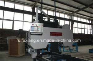 Double Cut Floor Wood Cutting Machine Electric Angle Saw Circular Sawmill pictures & photos