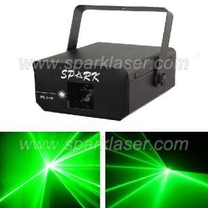 Disco DJ Green Laser Light