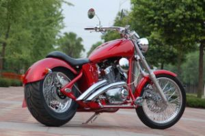 Custom Chopper with V Twin Engine (250cc)