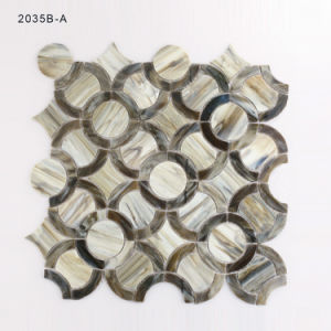 Building Material Bathroom Splashback Decoration Tiles Glass Mosaic for Sale pictures & photos
