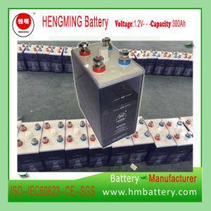 12V 24V 48V Tn500 (1.2V 500AH NI-FE battery) Solar Storage Power Nickel Iron Battery Supply Hengming pictures & photos