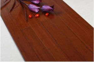 Stained Strand Bamboo Floor Teak Color