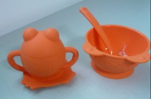 Silicone Baby Bowl & Cup Set