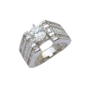 925 Silver Jewelry Ring (210757) Weight 8.8g