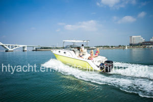 30′ Fiberglass Luxurious Fishing Boat Hangtong Factory-Direct pictures & photos