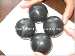 Black Rubber Ball