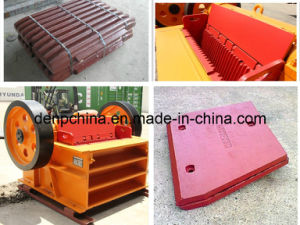 Upper Cheek Plate Jaw Crusher Cheek Plate pictures & photos