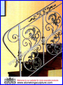 Wrought Iron Staircases/ Handrail/ Balustrade (SK-5257) pictures & photos