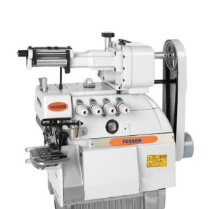 Elastic Attaching Overlock Sewing Machine pictures & photos