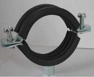 Heavy Duty Pipe Clamp with Ruber or Without Rubber pictures & photos