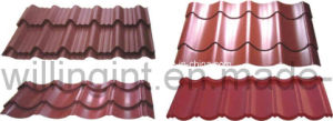 Galzed Steel Tile Sheet Decoration Material pictures & photos