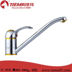 Ceramic Cartridge Brass Sink Kitchen Faucet (ZS50205)