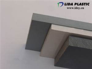 Build Materials Plastic Products High Density Grey Hard PVC Sheet pictures & photos