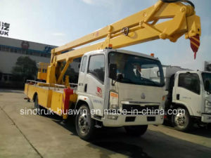 HOWO Crank Arm Type Aerial Working Platform Truck pictures & photos