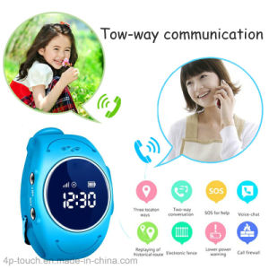 IP67 Waterproof Children GPS Tracker Watch with Real-Time Tracking (D11) pictures & photos
