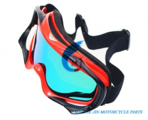 Motorcycle Goggles of One-Layer High Density Foam pictures & photos